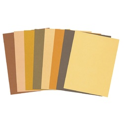 Skin Tone Craft Paper 22 x 28cm 48 Sheets 8 Colours