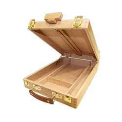 Tabletop Box Easel Med - Beech