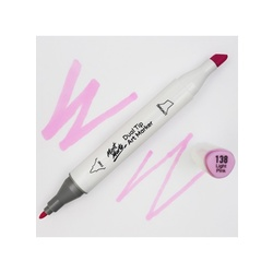 Premium Dual Tip Art Marker - Light Pink 138