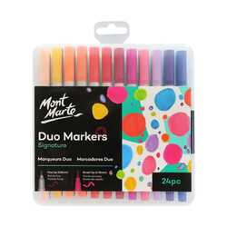 Mont Mart Duo Markers Pack of 24