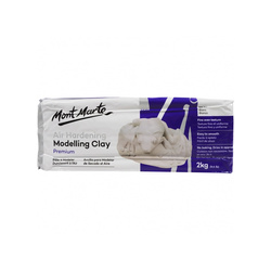 Air Hardening Clay 2kg White