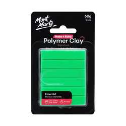 Make n Bake Polymer Clay 60g - Emerald