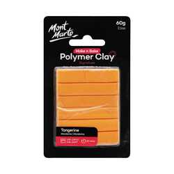 Make n Bake Polymer Clay 60g - Tangerine