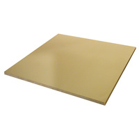 Zart Metallic Paper Squares 250 x 250mm Gold 100 Sheets