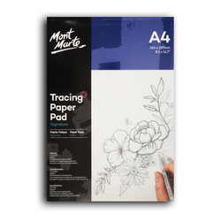 Mont Marte Tracing Paper Pad 60gsm A4 40 Sheet