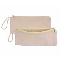 Calico All Purpose Case 9 x21cm With Zip Pack of 5