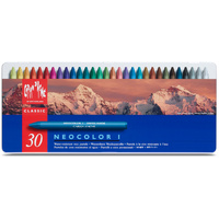 Caran d'Ache Neocolor 2 Water Soluble Wax Pastels tin of 30