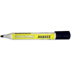 Osmer Whiteboard Marker Bullet Tip Pack of 12 Black