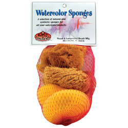 Ocean Sea Sponge Mix with Synthetic Sponge Pack of 5