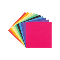 Origami Paper Assorted Two-tone coloured squares 15x15cm 100 Sheets