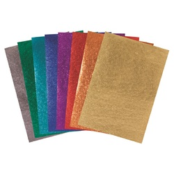 Metallic Scales Paper A4 Assorted Pk 40