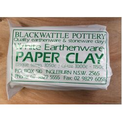 Paper Clay  10kg - White Earthenware