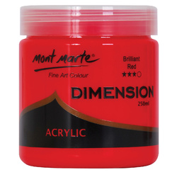 Dimension Acrylic Paint Brilliant Red 250mls