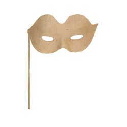 Zart Papier Mache Eye Mask on a Stick