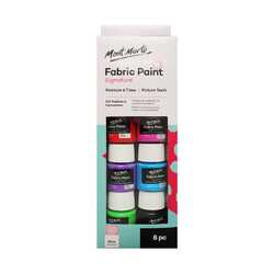 Mont Marte Fabric Paint Set 8 x 20ml