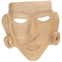 Zart Papier Mache Primitive Face Mask