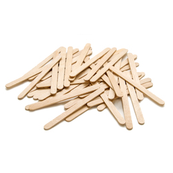 Pop Sticks Natural Wood Colour - Pack of 1000