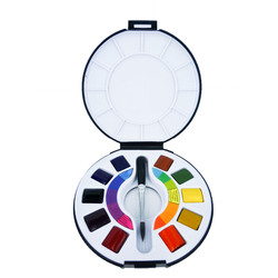Raphael Watercolour Travel 10 1/2 Pans Set