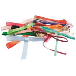 Zart Ribbons Assorted Sizes and Colours Pack of 36