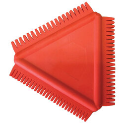 NAM Triangle Rubber Clay Scraper