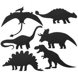 Scratch Art Dinosaurs, Rainbow reveal, Pack of 24 Dinosaurs in 6 Designs - 24 Scrapers