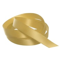 Satin Ribbon 10mm Gold 30m Roll