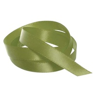 Satin Ribbon 10mm Sage Green 30m Roll