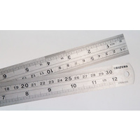Stainless Steel Rulers 30cm/12in