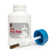 Educational Colours Empty Glue Pot set of 6