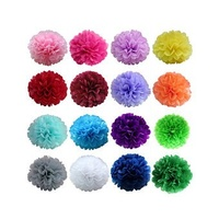 Coloured Tissue Paper Pack of 5