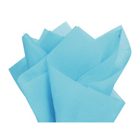 Coloured Tissue Paper Light Blue 500 x 700mm Pack of 5