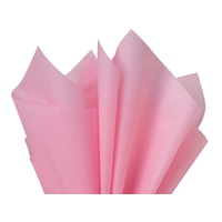 Coloured Tissue Paper Pink 500 x 700mm Pack of 5