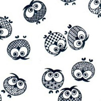 Tissue Transfer Paper Owls 410x310mm