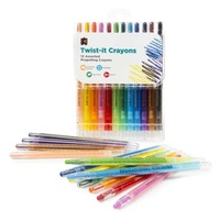 Educational Colours Twist-It Crayons Pack of 12