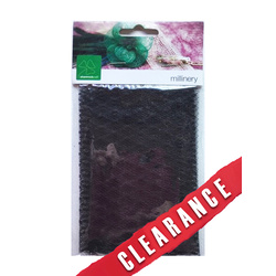 31% OFF-Shamrock Veiling 25x50cm of Black