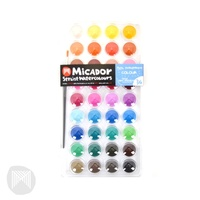 Micador Stylist 36 Set of Watercolours