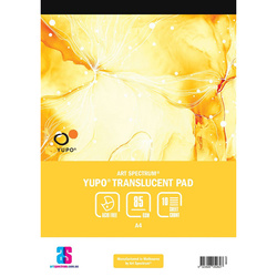 Art Spectrum Translucent Yupo Pad 85gsm 10 Sheets A4