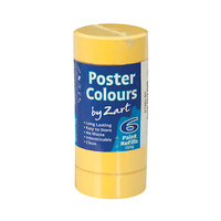 Zart Poster Colour Powder Paint Refill Brilliant Yellow Pack of 6