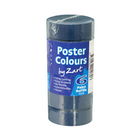 Zart Poster Colour Powder Paint Refill Prussian Blue Pack of 6