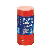 Zart Poster Colour Powder Paint Refill Brilliant Red Pack of 6