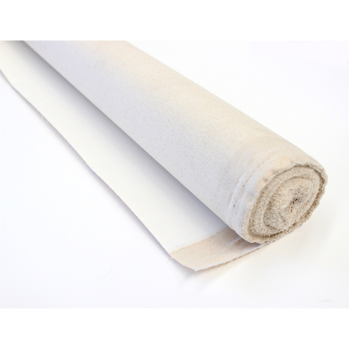 Double Primed Indian Cotton Canvas - 10oz x 25m