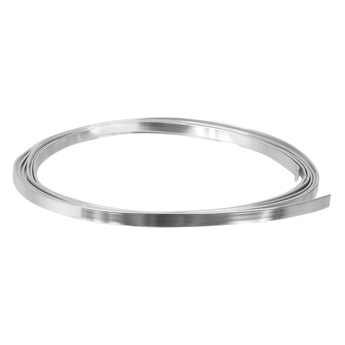 Zart Flat Wire Armature Wire 5mm thick Silver 50m Roll