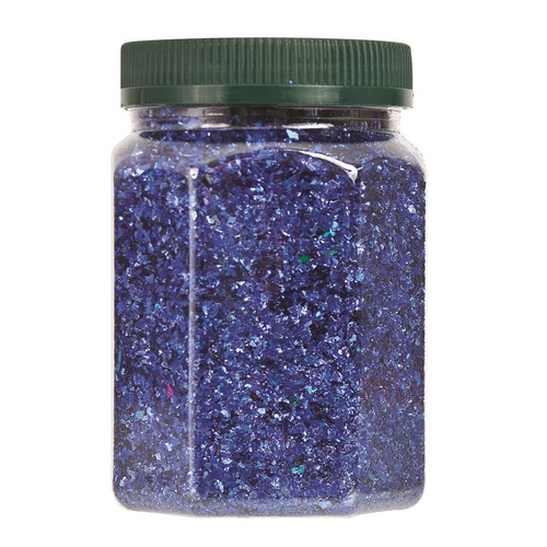 Zart Bulk Glitter Shakers 250ml - Blue