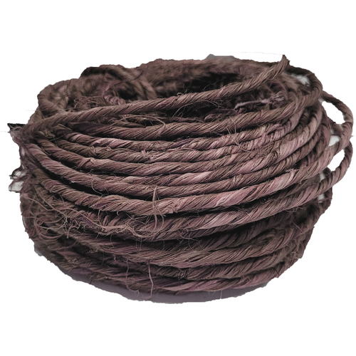 Oasis Rustic Wire 1mm x 5 m Brown